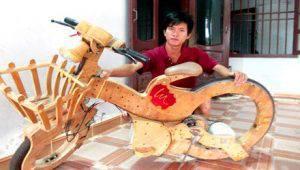 Chàng trai 9x chế xe đạp điện từ xe đạp điện cũ