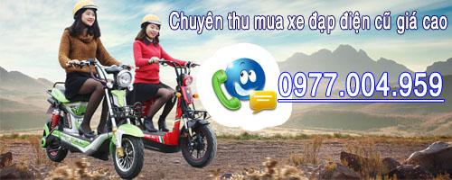 Thu mua xe đạp điện cũ giá cao