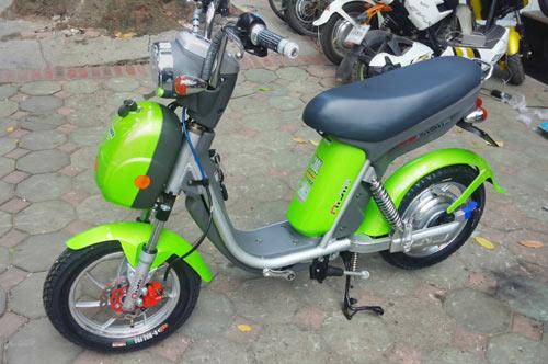 Thu mua xe đạp điện Niija cũ phanh đời 2015