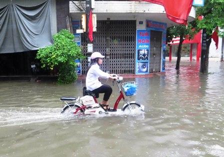 Khả năng chống nước của xe
