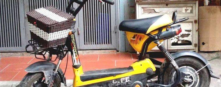 Thu mua xe đạp điện cũ tại Từ Liêm- xe đạp điện Giant cũ