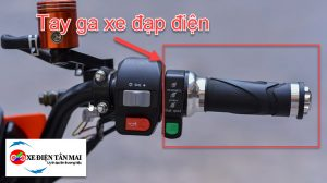 Xe đạp điện không ga được do hỏng tay ga