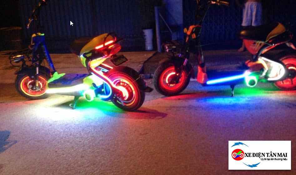 Chế thêm đèn sẽ khiến xe đạp điện nhanh hết điện