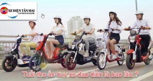 Tuổi thọ của ắc quy xe đạp điện là bao lâu ?