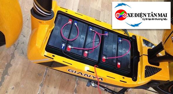 Thay ắc quy xe đạp điện tại Nguyễn Phúc Lai