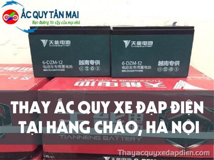 Dịch vụ Thay ắc quy xe đạp điện tại Hàng Cháo, Đống Đa, Hà Nội