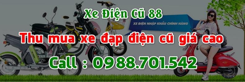 Thu mua xe đạp điện cũ giá cao tại Hà Nội